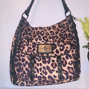 Tyler Rodan Cheetah print purse